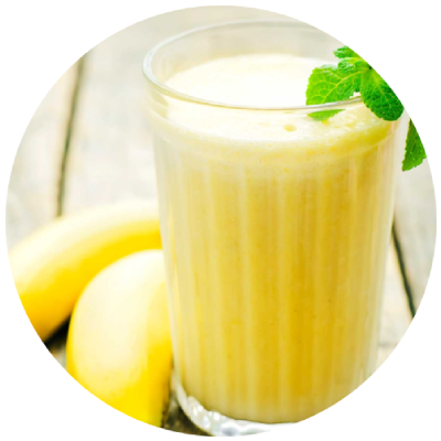 Bananowe smoothie na cellulit.